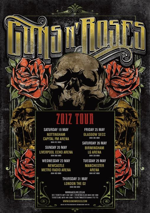 guns n roses 2012 tour dates 39 ticket 39 s there 39 irish and international music blog. Black Bedroom Furniture Sets. Home Design Ideas