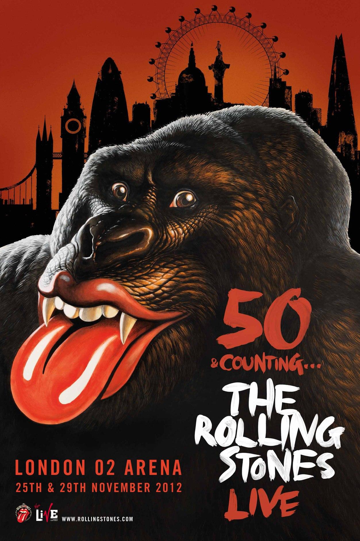 Rolling stones tour dates