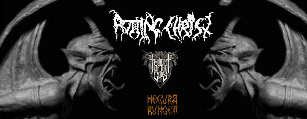 Rotting Christ Image: 'Ticket's There' - Irish And International