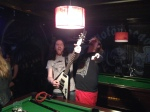Psykosis gearing up to walk on stage. (Tony (L), Shane (R))
