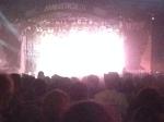 Aerosmith lighting up MS1 - My headliner pic curse continues.